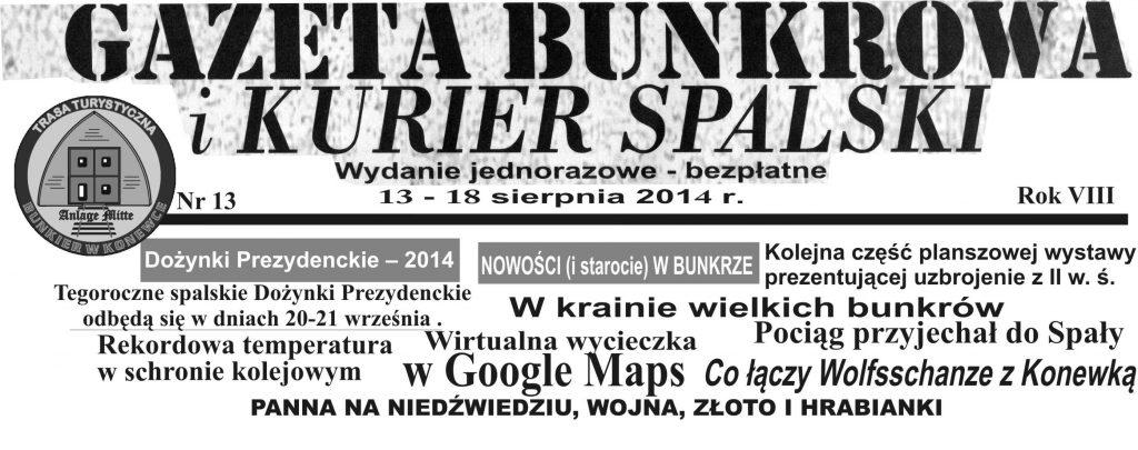 Gaz Bunkr13 NAGŁOWEK